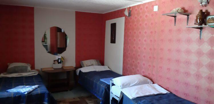Трехместный номер с 3мя раздельными кроватями