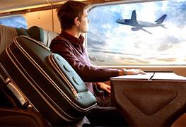 Заказ билетов на поезд и самолет